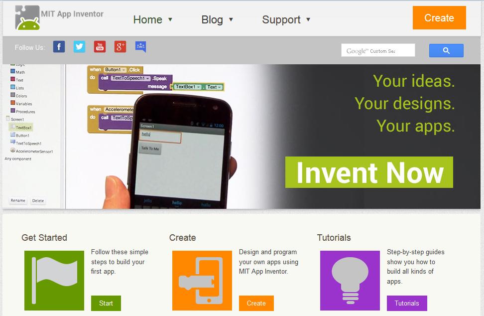 http://appinventor.mit.edu/explore/