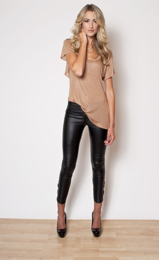 Free shipping BOTH ways on bcbgmaxazria leather like moto legging black, from our vast selection of styles. Fast delivery, and 24/7/ real-person service with a smile. Click or call