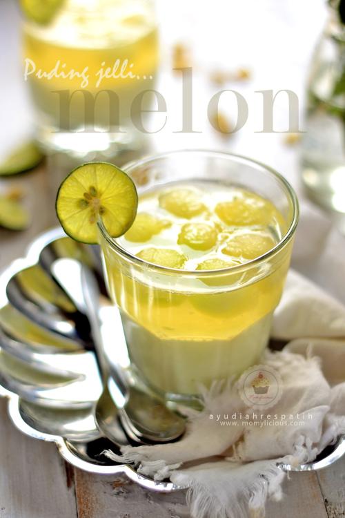 Puding Jeli Melon