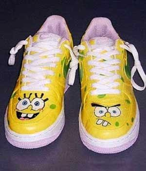 Sepatu SpongeBob