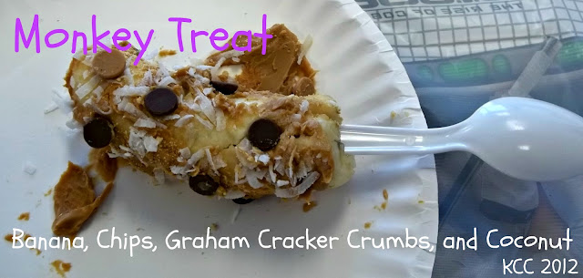 Graham Cracker Banana Recipe on a Stick