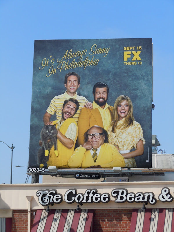Always Sunny in Philadelphia season 7 billboard