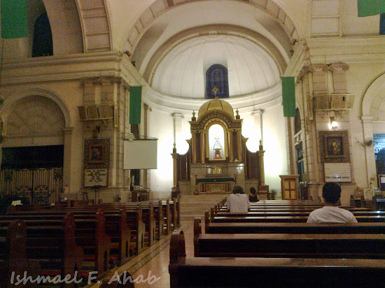 Interior of Malate Church