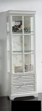 Vitrina Baño blanca, vitrina baño alta