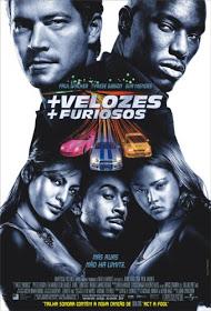 Filme + Velozes + Furiosos Dublado AVI DVDRip