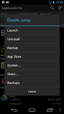 AppMonster Pro Backup Restore Apk Android