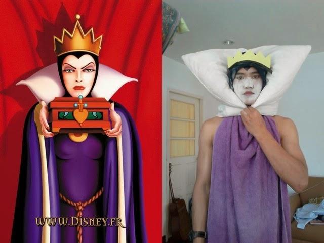 Lowcost Cosplay - Queen Grimhilde