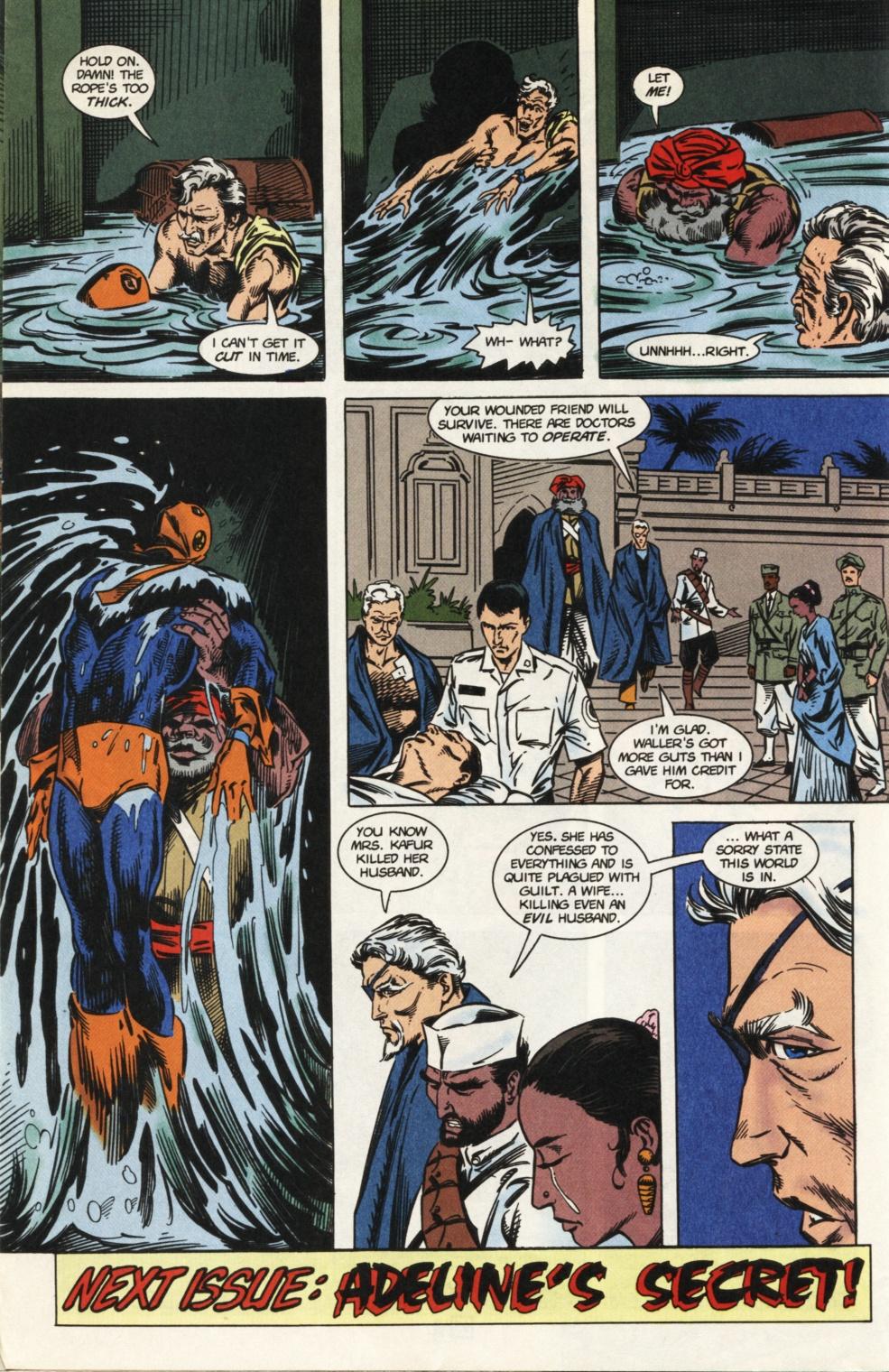 Deathstroke (1991) Issue #31 #36 - English 25