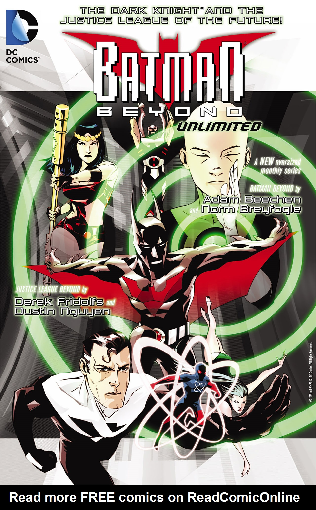 Batman Beyond (2012) Issue #4 #4 - English 23