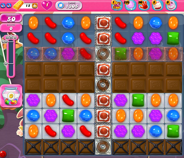Candy Crush Saga 1305