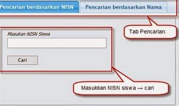 Pencarian Bedasarkan NISN