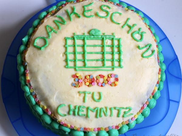 Zartbitter-Schoko-Torte mit Beerencremefüllung