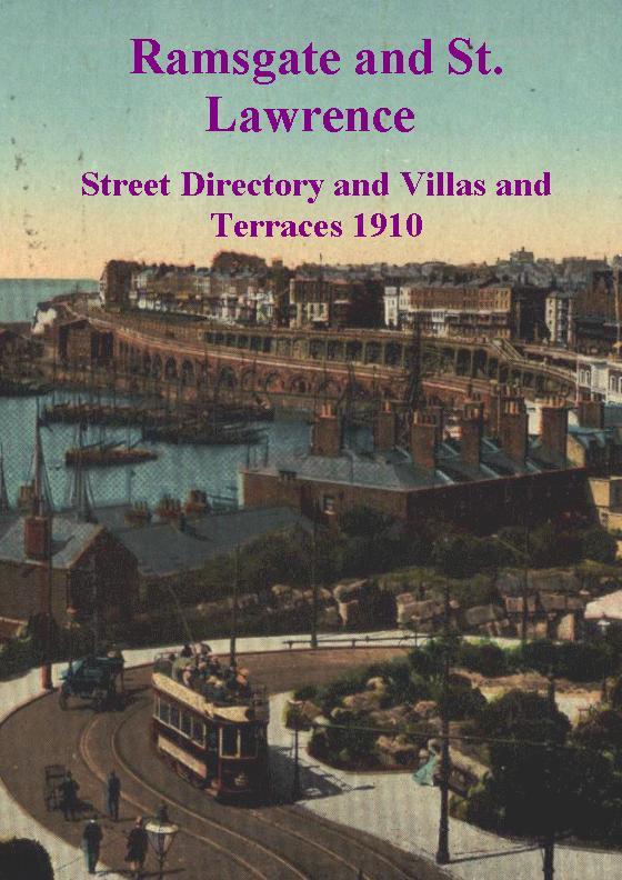 Ramsgate Street Directory 1910