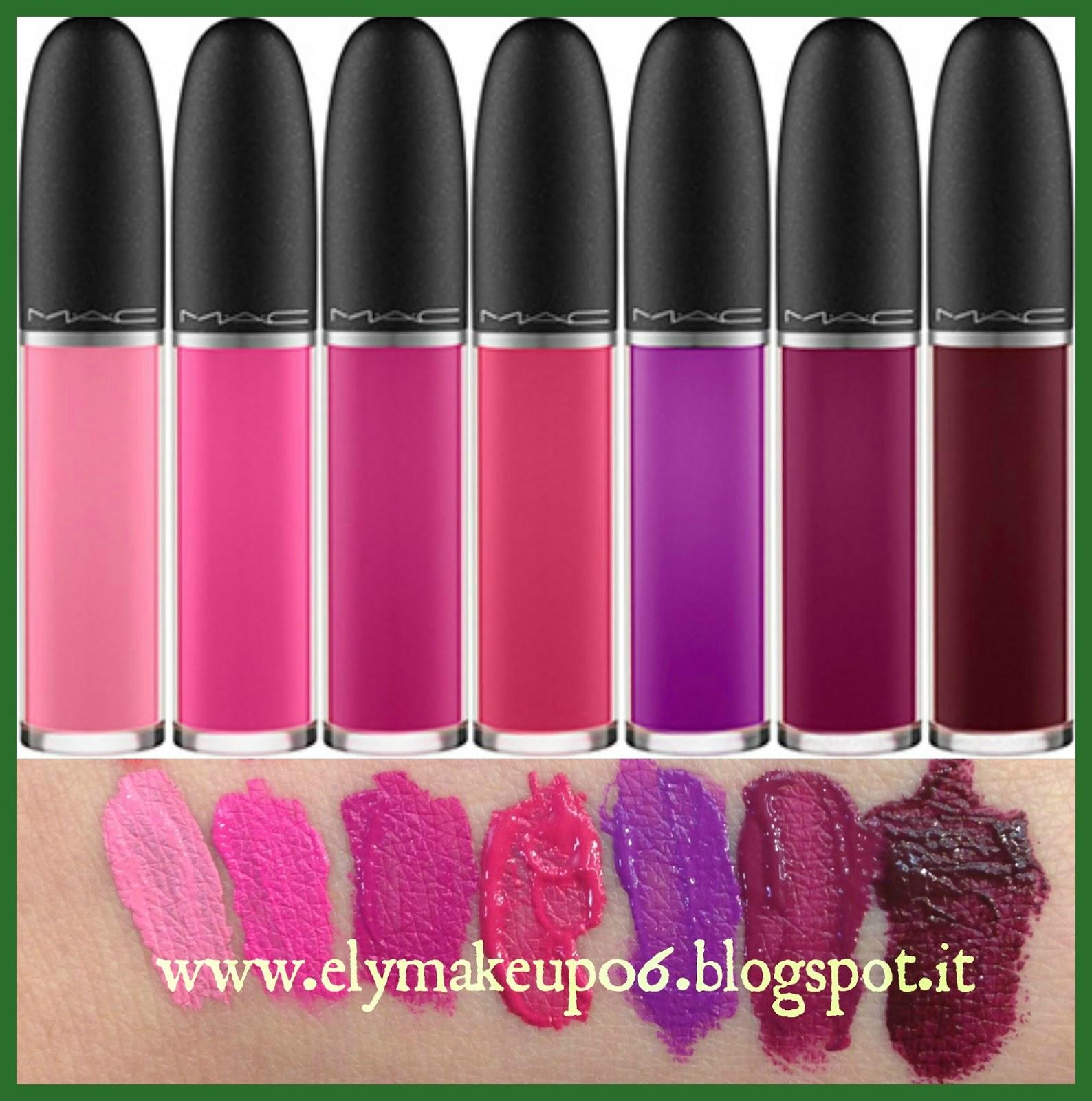 Elymakeup retro matte liquid lipcolour mac review e swatch sulle labbra - Rossetto mac diva ...