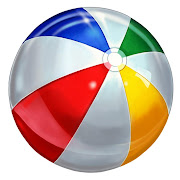 So I'm sitting here watching the Sox game and what happens?.a beach ball .