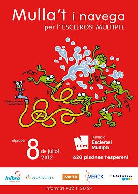Cartell del Mulla't 2012 de la Fundació Esclerosi Múltiple