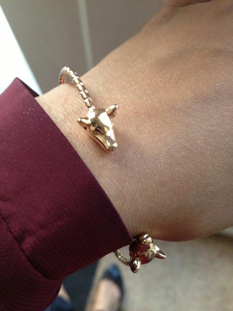 My Animal Inspired Bracelet