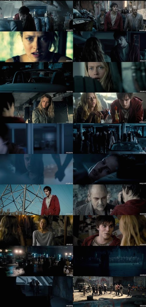 Warm Bodies (2013) Dual Audio Hindi English