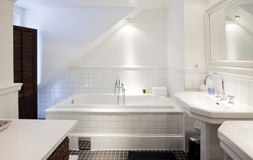 Łazienka w stylu skandynawskim