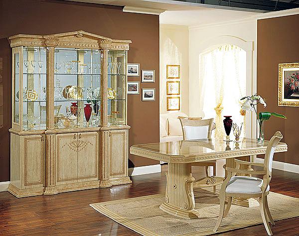 Dise o e interiores de comedores cl sicos beige ideas - Disenos de comedores de madera ...