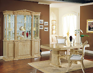 Dise o e interiores de comedores cl sicos beige ideas for Decoracion comedor clasico