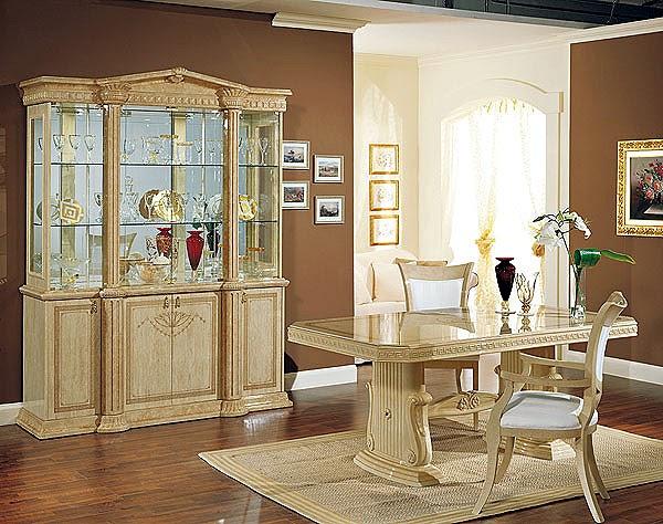 Dise o e interiores de comedores cl sicos beige ideas for Diseno de comedores modernos
