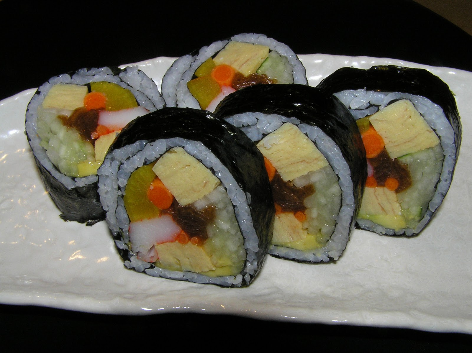 Futomaki Roll Recipe Japanese Food Recipes