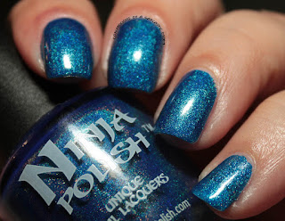 Ninja Polish Infinity Gems Mind Swatches Review