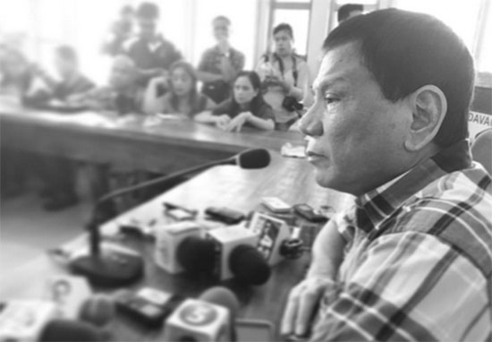 Rodrigo Duterte Officially filed COC for President