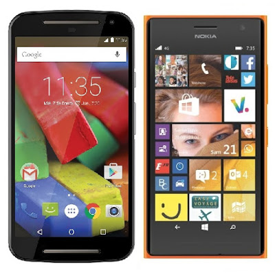 Motorola Moto G 4G 2015 vs Nokia Lumia 735