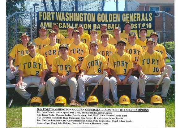 2014 Fort Washington Generals Champions