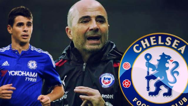 Jorge Sampaoli pode ser o técnico do Chelsea na próxima temporada.