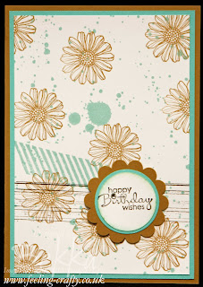 Best of Flowers, meets Gorgeous Grunge by UK based Stampin' Up! Demonstrator Bekka Prideaux - check her blog for lots more ideas with this stamp set