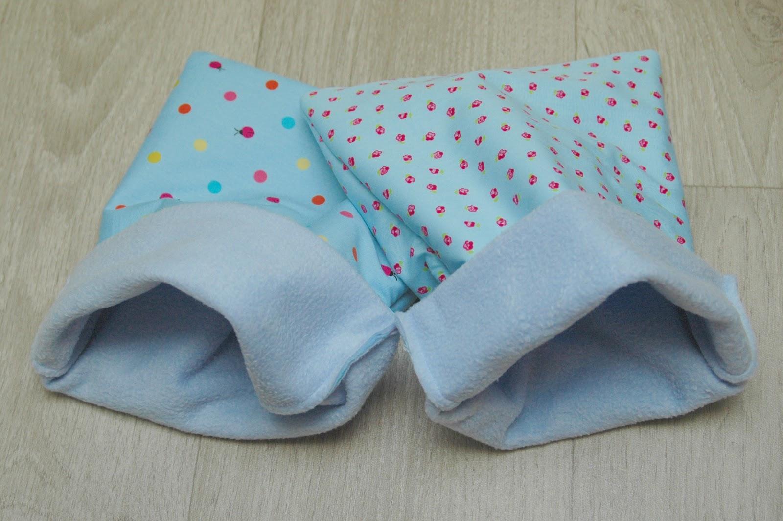 Kleine kunstwerkjes twee slaapzakken voor een cavia for Kleine vijverfilter zelf maken