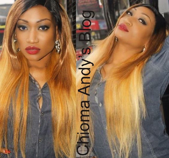 Nollywood Actress Oge Okoye Looking Beautiful On Blonde chiomaandy.com