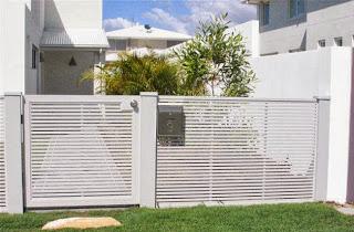 pagar rumah minimalis modern koleksi gambar rumah minimalis