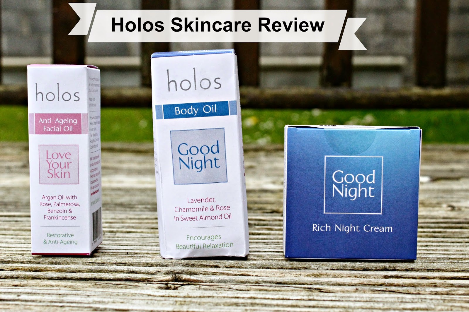 Holos Skincare Blog Review