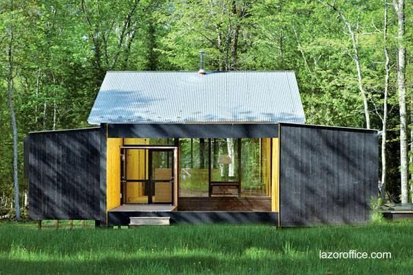 Cabaña americana moderna prefabricada
