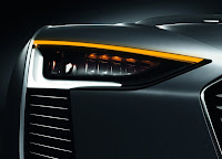 Audi E-tron Spyder headlights Wallpaper