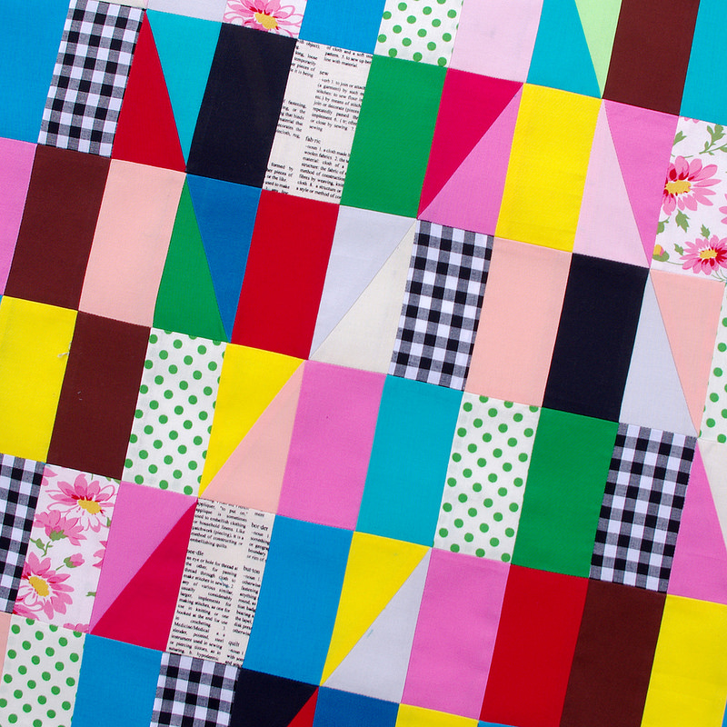 Modern Triangles - Patchwork by Red Pepper Quilts