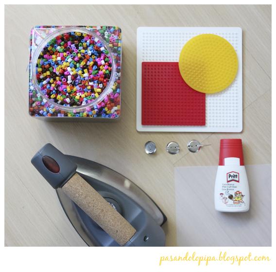 pasandolopipa: material hama bead o pyssla