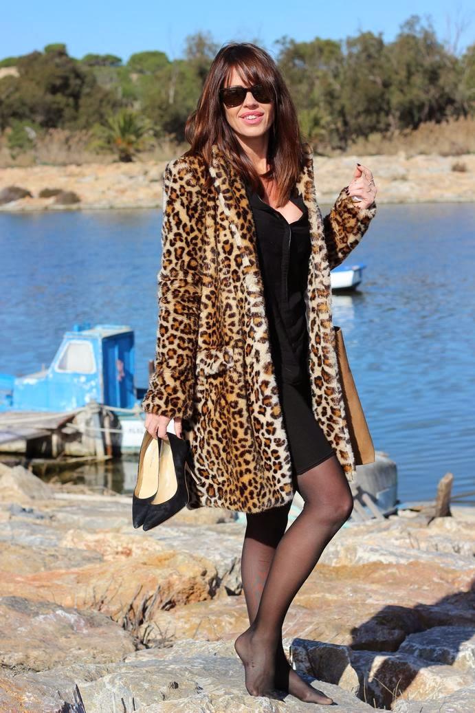 Zara Trafaluc - Abrigo leopardo