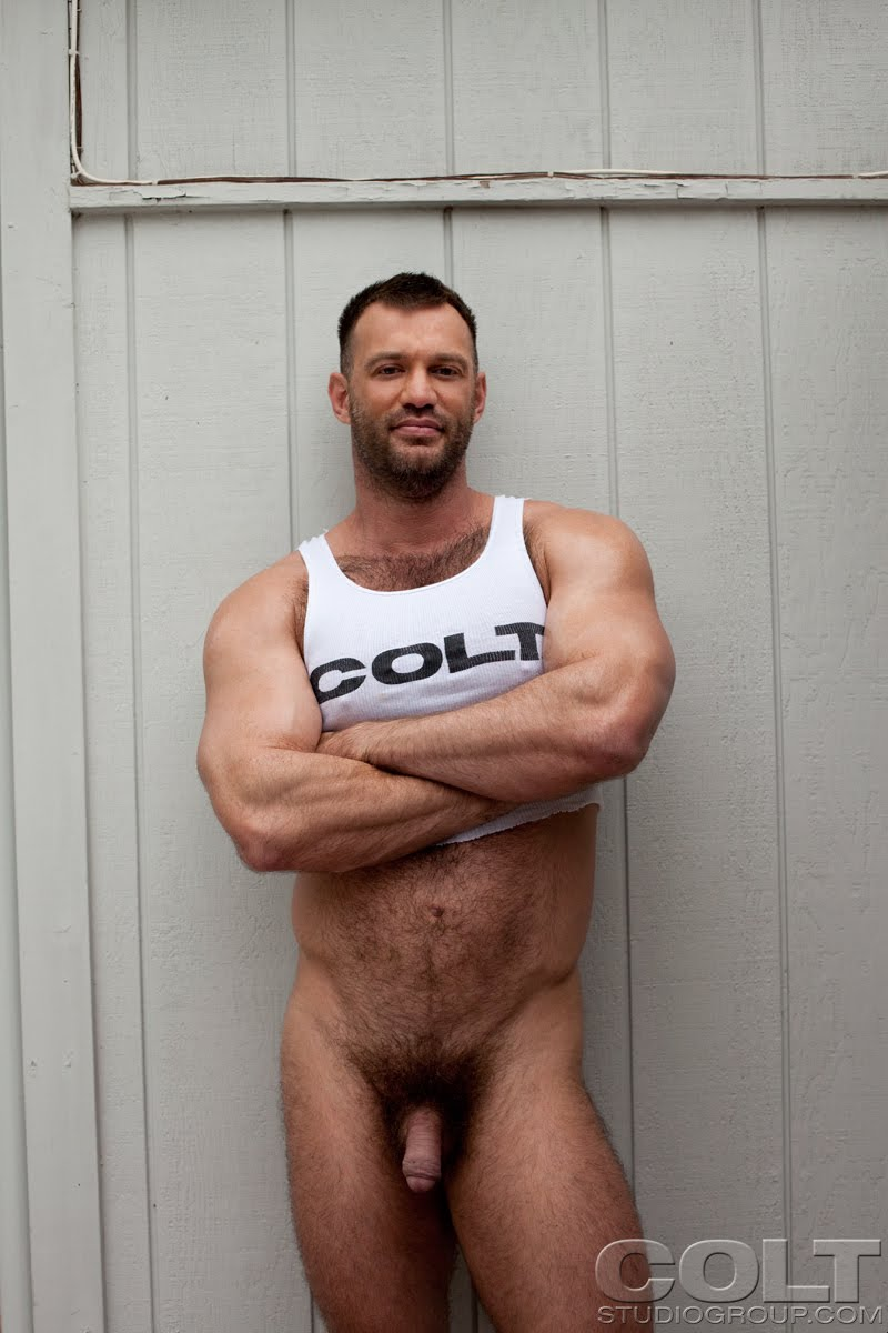 gay hardcore porn star muscle bear hairy huge pecs bottom hairy ass jockstrap Colt studio group Gruff Stuff Brenden Cage fucking sucking masculine 8 that big ass bear. FUCKING