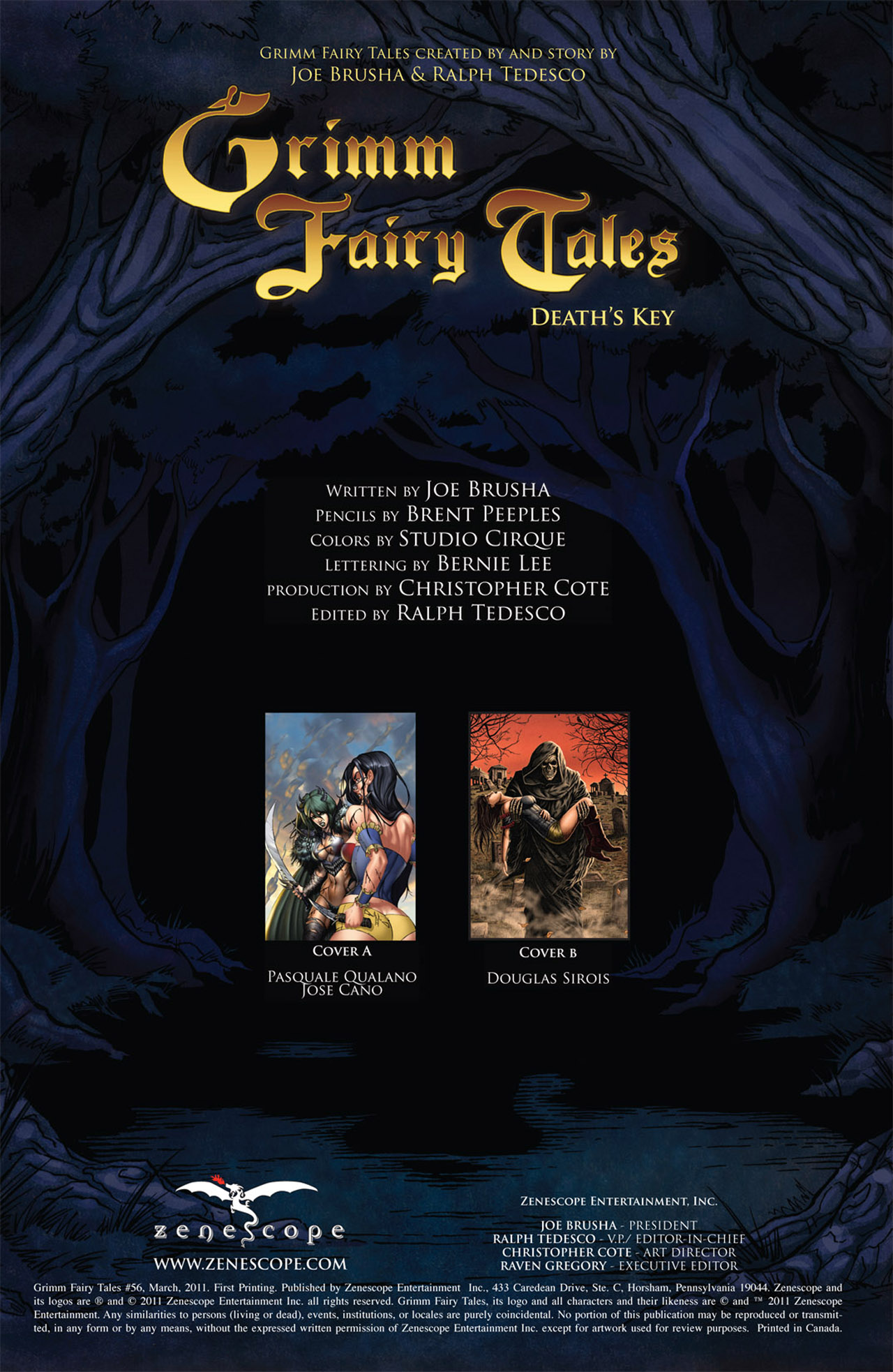 Grimm Fairy Tales (2005) Issue #56 #59 - English 2