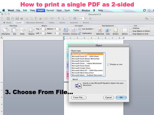 where to print pdf document melb