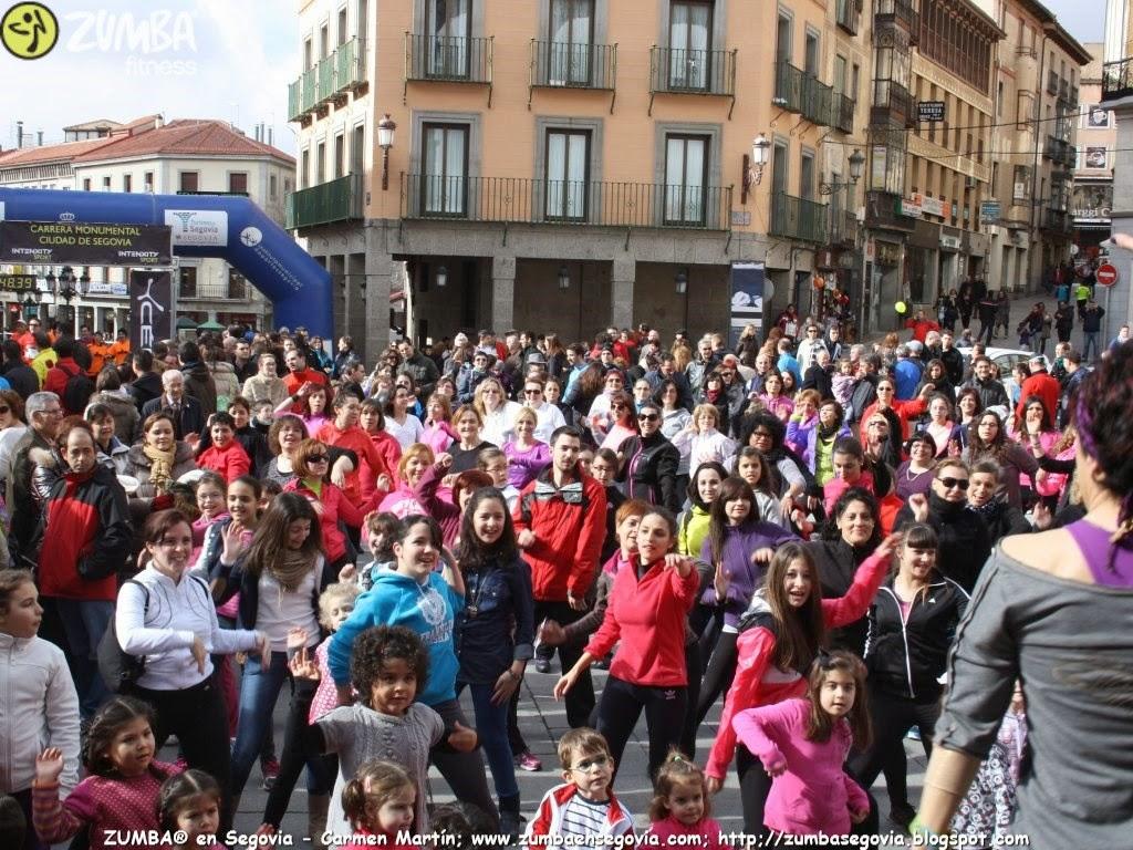 ZUMBA en Segovia_ CARMEN MARTÍN en la III Carrera Monumental Segovia