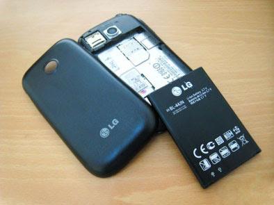 LG Optimus P698 Dual SIM