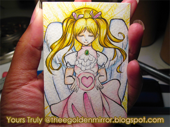 artist trading card angel