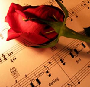 bunga romantis