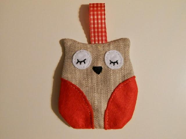 Coton et Création : chouette en tissu